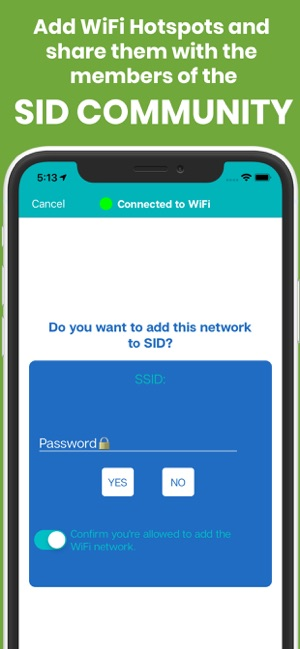 Share Internet Data (SID) on the App Store