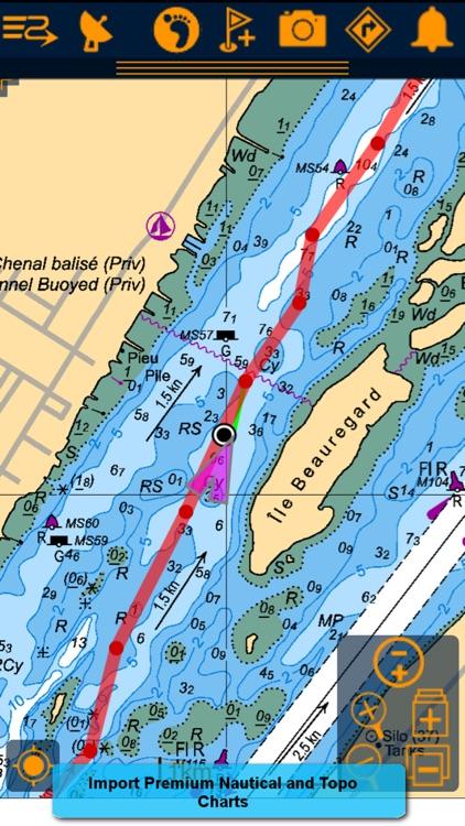 PathAway PRO - Outdoor GPS Nav screenshot-4