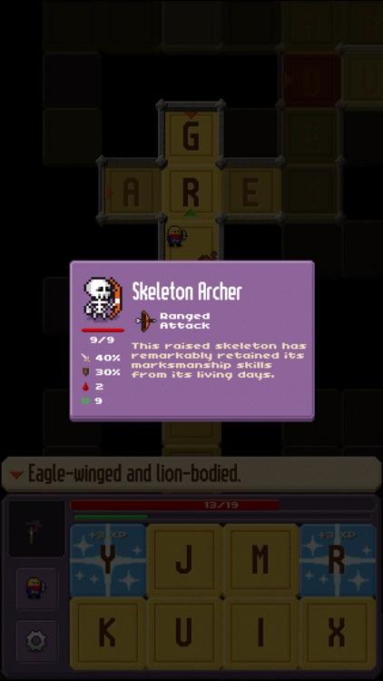 Crossword Dungeon screenshot-5