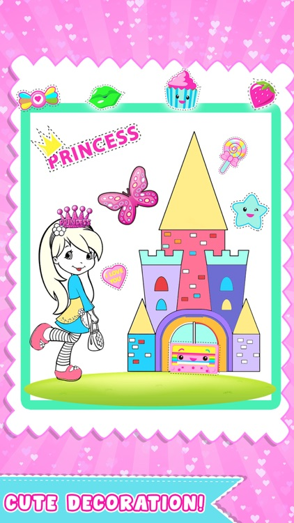 Draw Princess Color And Paint screenshot-3