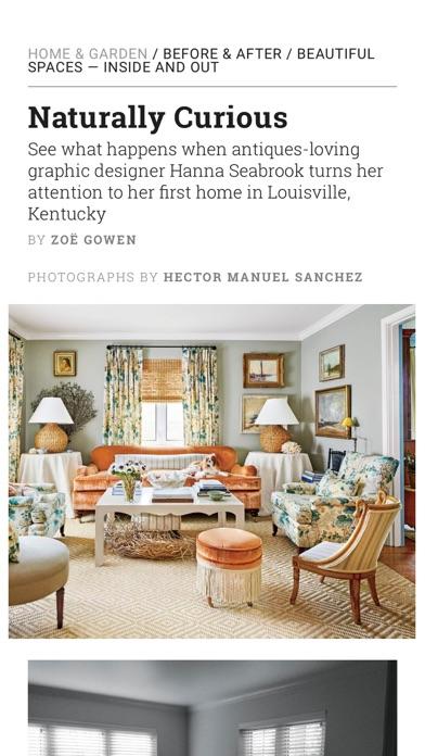 Southern Living Magazine review screenshots