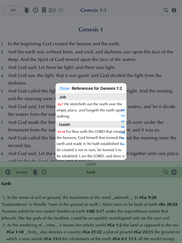 Online Bible - náhled