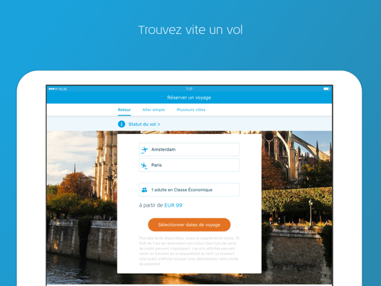 Screenshot #5 pour KLM