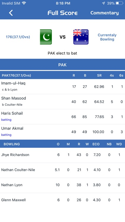 Cricyard - Live Score & News screenshot-1