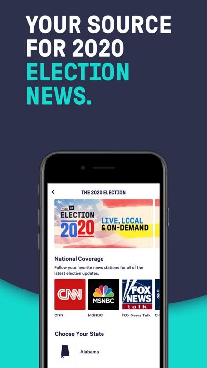 TuneIn Radio: Live News, Music screenshot-6