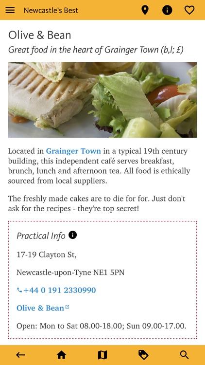 Newcastle's Best: Travel Guide screenshot-8