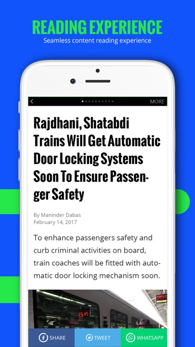 Indiatimes - Trending News App Screenshot