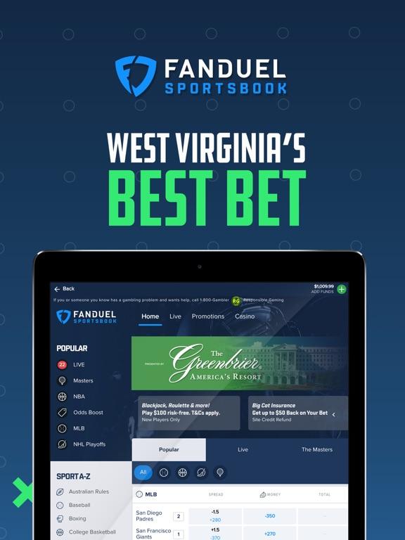 WV: FanDuel Sportsbook screenshot 8