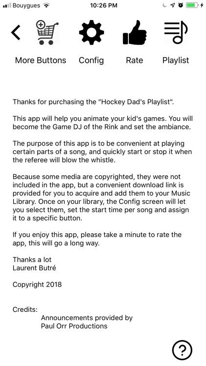 Ice Hockey Dad's Playlist screenshot-9