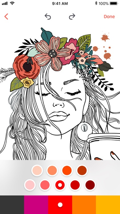 Adult Coloring Book: Colors