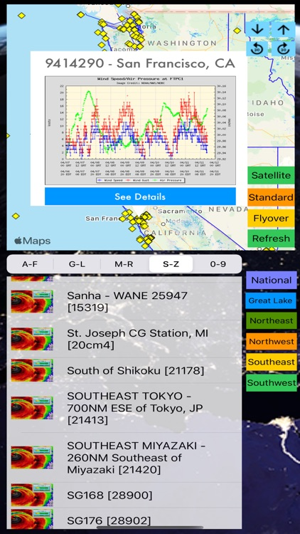 Instant NOAA Buoys 3D screenshot-6