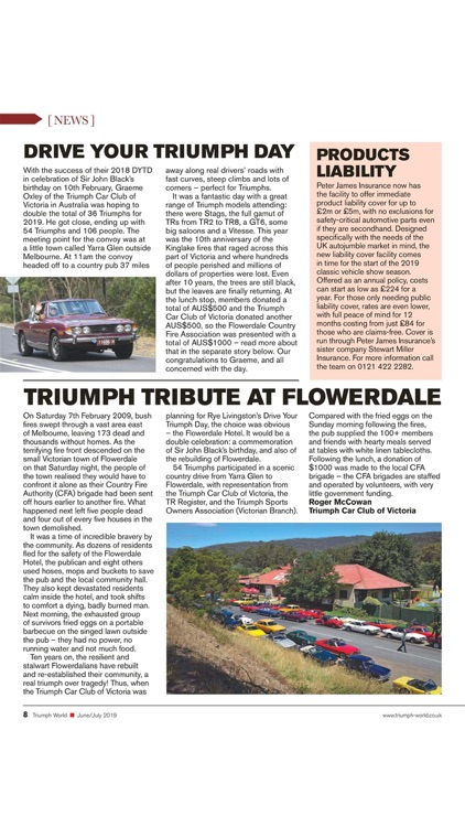 Triumph World Magazine screenshot-7