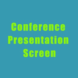 Conference Presentation Screen