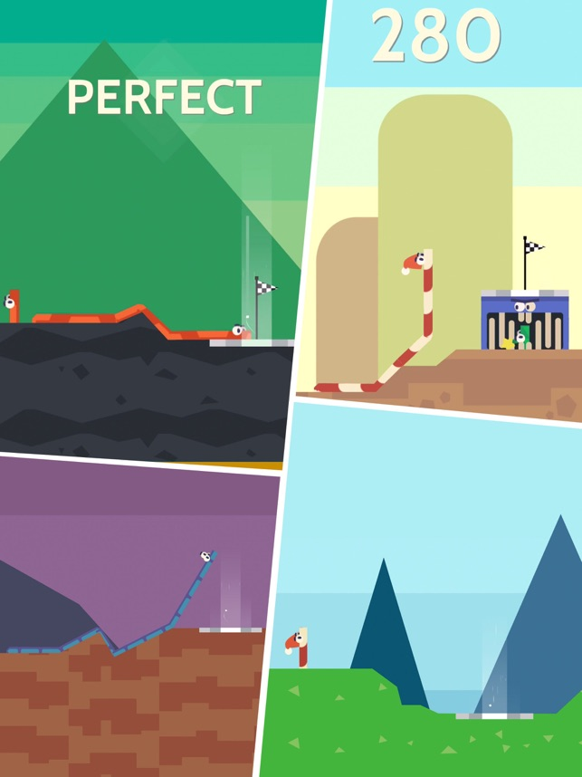 Bend!, game for IOS