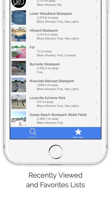 Ramp Map: World Skatepark List screenshot-3