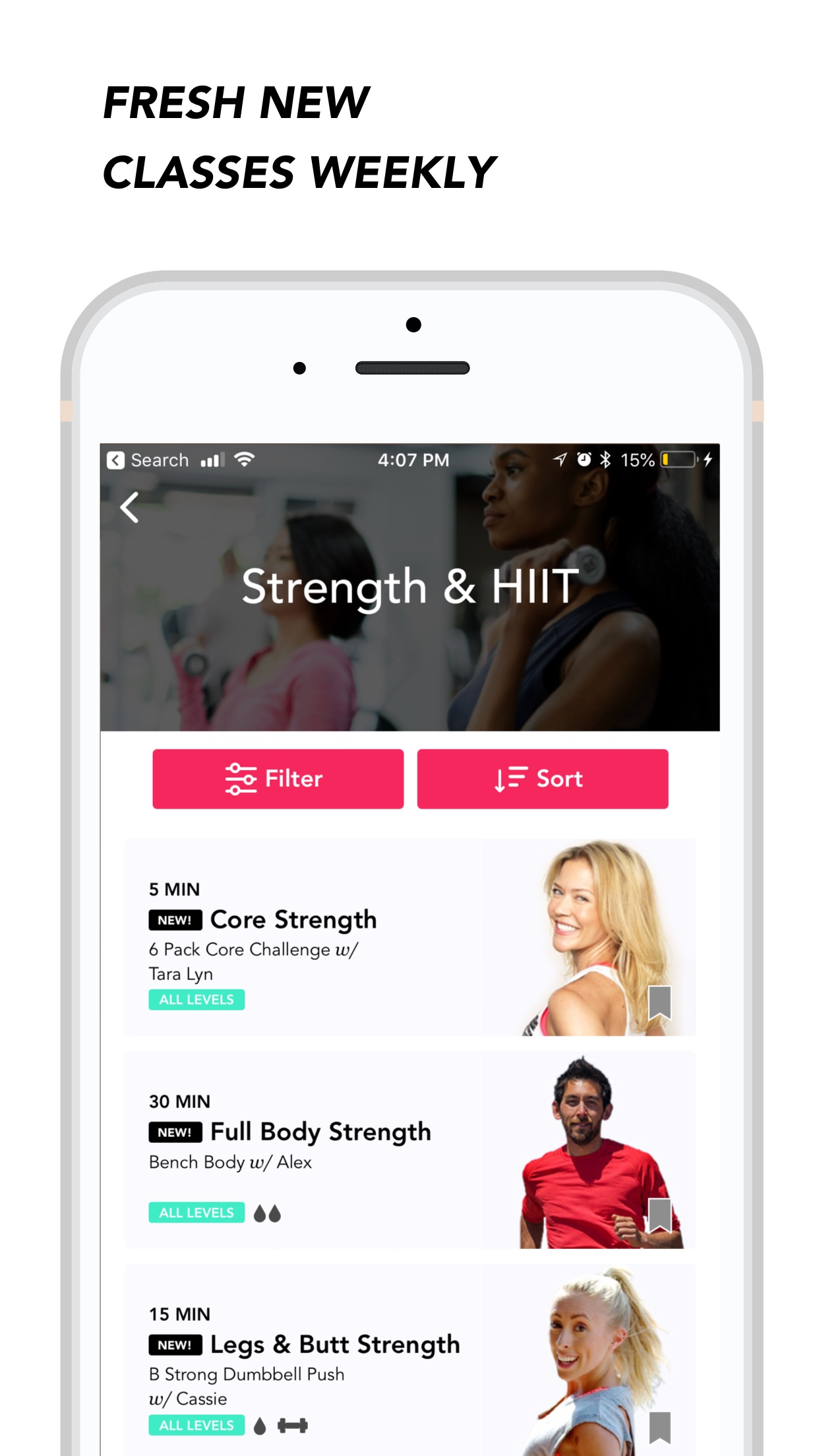 MoveWith: HIIT Workouts & Yoga Screenshot