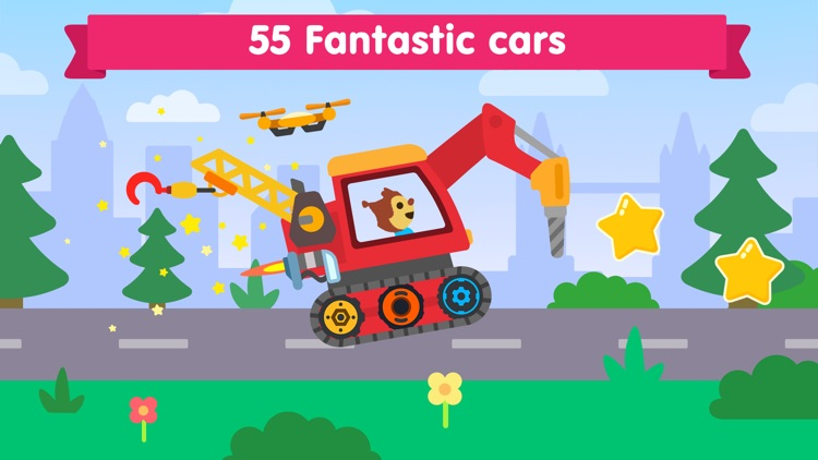 Car games for kids & toddlers! screenshot-0