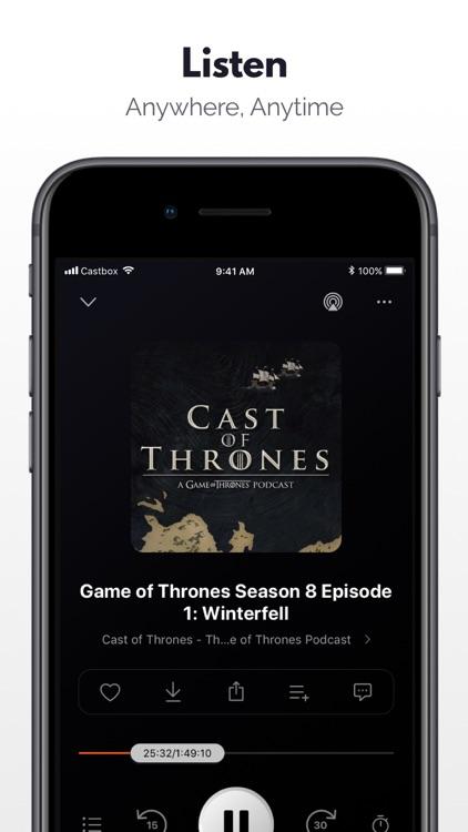 Podcast Player: Castbox screenshot-3