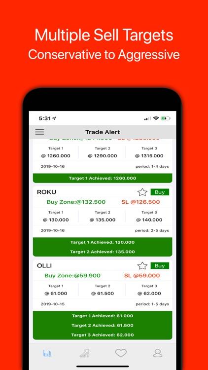 Daily Stock Flip - Swing Trade screenshot-4