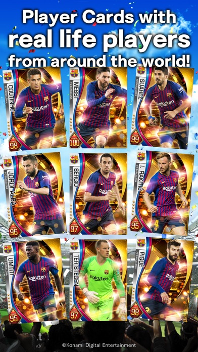 PES CARD COLLECTION | From KONAMI | Mobile apps Gmjeu com