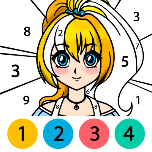 80 Anime Coloring Book 1 & 2 Free Images