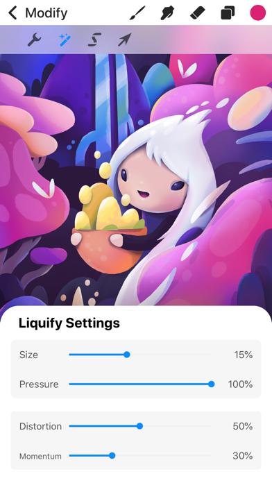 Screenshot for Procreate Pocket in Canada App Store