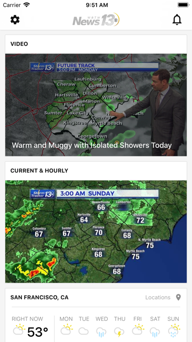 Top 10 Apps like CBS 42 Weather for iPhone & iPad