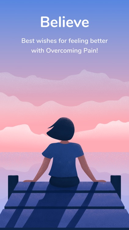 Overcoming pain based on EMDR