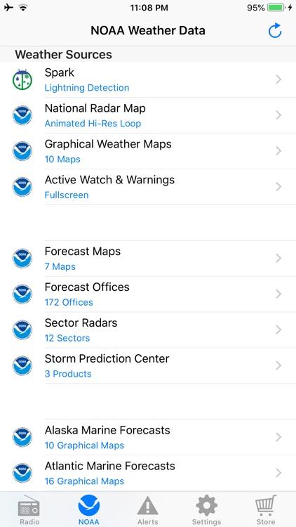 NOAA Weather Radio screenshot-9