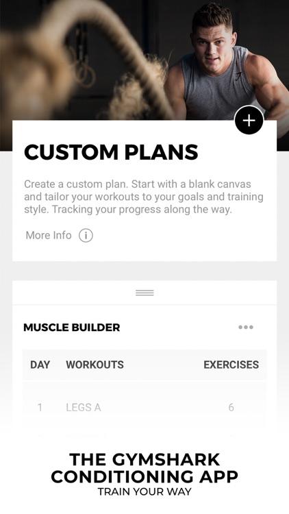 Gymshark   Gym Workout Planner