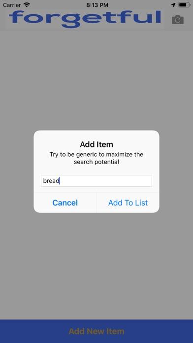 The Forgetful App screenshot #3