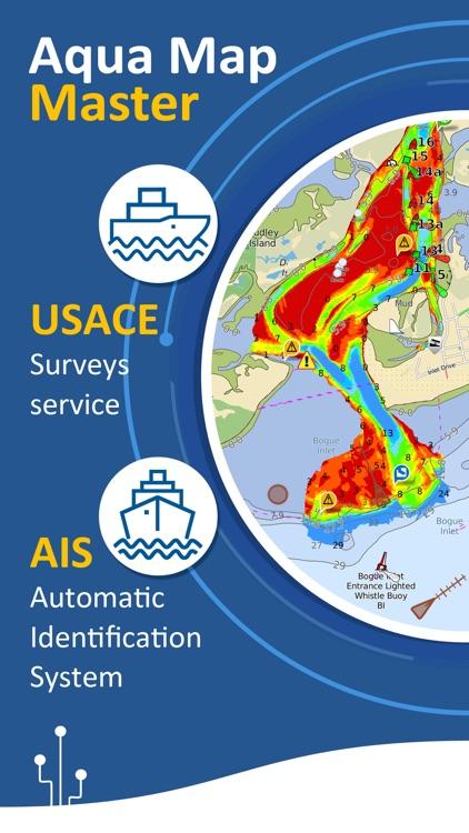 Aqua Map: Marine & Lake maps screenshot-3
