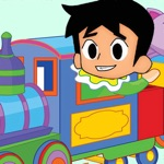 Train Of Race With Boy