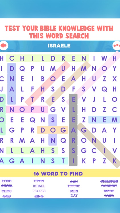 Bible Word Search Puzzle Games screenshot-5