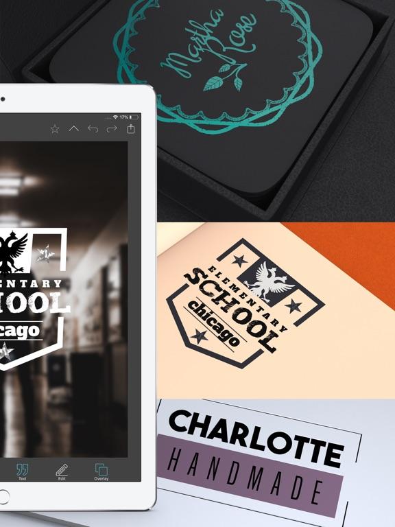 Vintage Design - Logo Maker & Poster Creator DIY screenshot