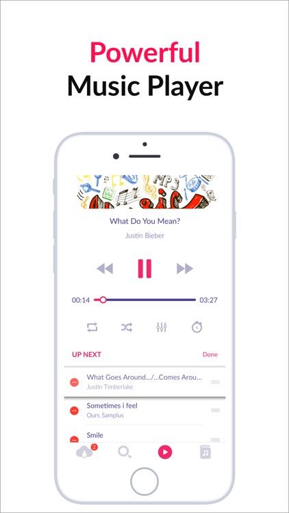 Cloud Music Offline Music MP3 screenshot-3