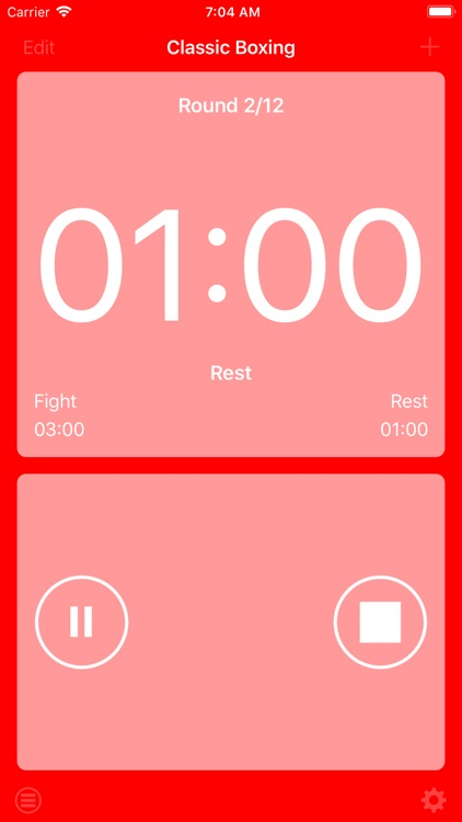 Boxing Interval Timer