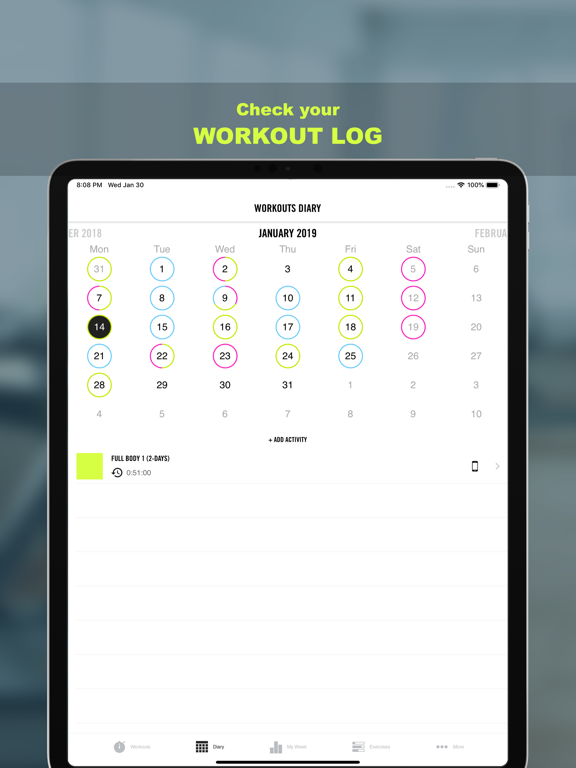 Gym Life - Workout Scheduleのおすすめ画像4