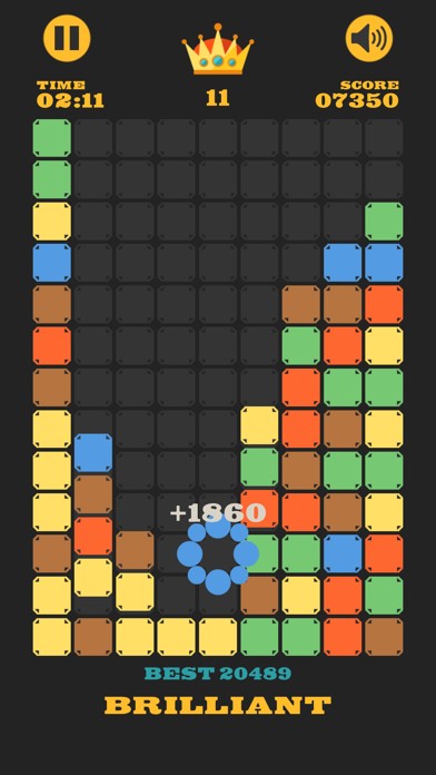 Clear The Blocks, Merge Colors screenshot 8