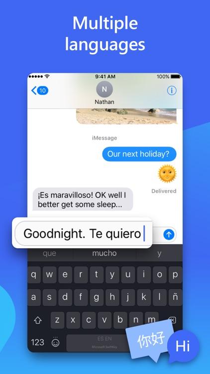 Microsoft SwiftKey Keyboard screenshot-3