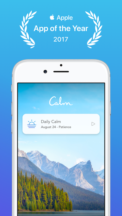 cancel Calm app subscription image 1