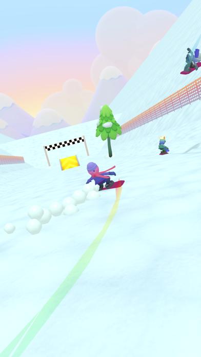 Snow Down! screenshot 1