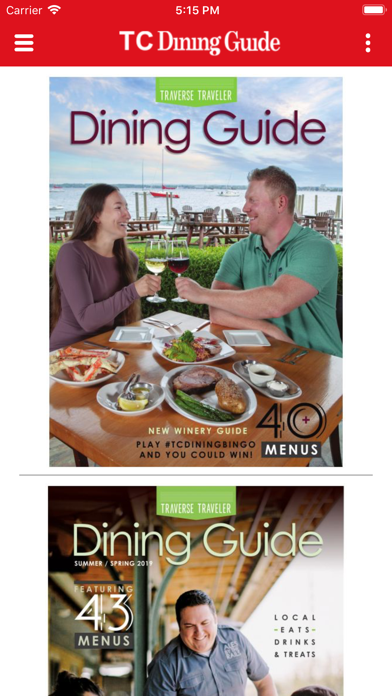 点击获取Traverse City Dining Guide