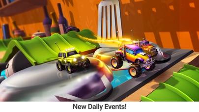 Faster Monster Truck Racing Screenshot