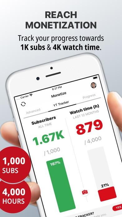 YT Tracker for YouTubeのおすすめ画像1