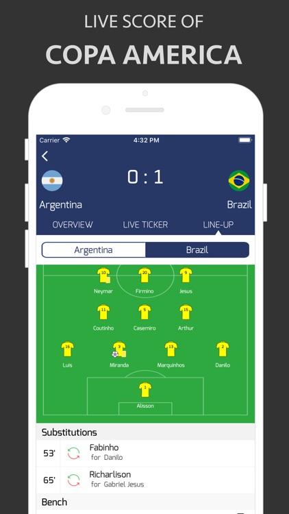 Football Live - Copa 2019
