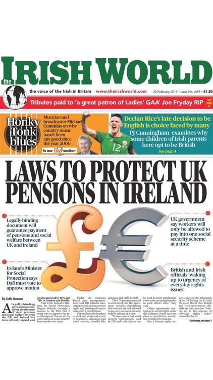 Irish World Newspaper screenshot-8