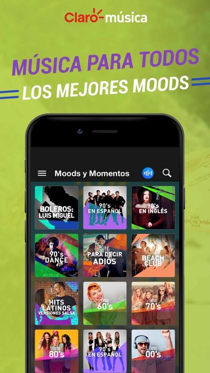 Claro Musica screenshot-4