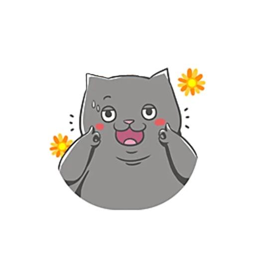 FatCat - Sticker