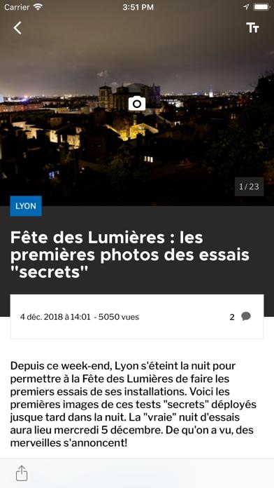 Le Progrès screenshot two
